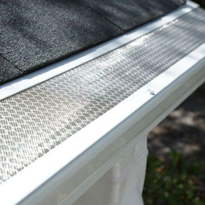 aluminum gutter guard