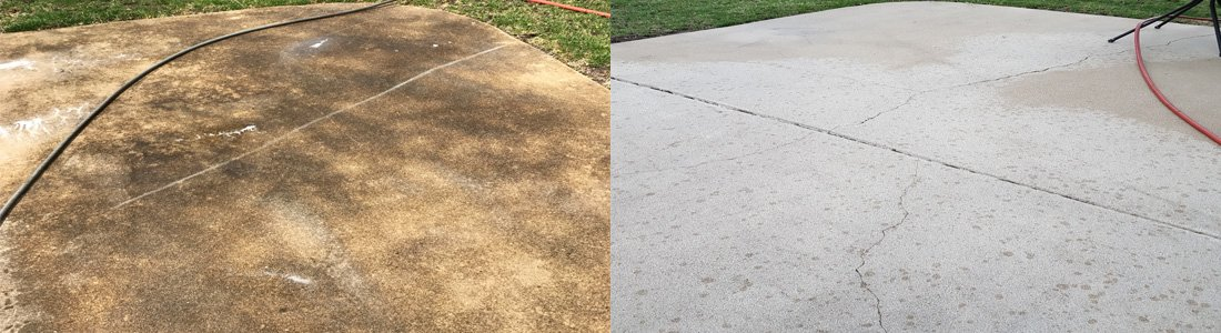 Concrete Patio Power Washing Evanston
